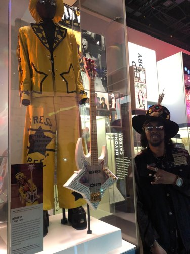 Bootsy at the Smithsonian Museum Space Bass Out.